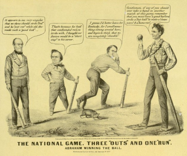 Political Cartoon 1860 From Getty Images