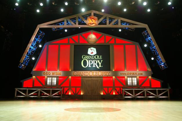 Grand Ole Opry Stage Photo by Randy Piland From Nashville Convention & Visitors Bureau