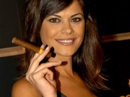 19 October, 2006. Madrid (Spain). Portrait of Maria Jose Suarez, Miss Spain 1996 and spanish tv host.